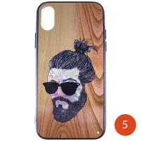 Силикон BARBER iPhone 5 05