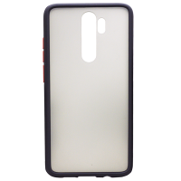 Силикон MATT CASE Samsung A60 черный