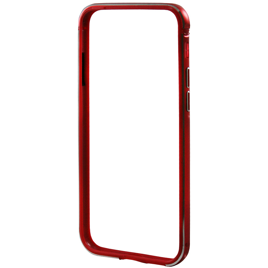 Бампер Metal FLEX iPhone 8 Plus красный