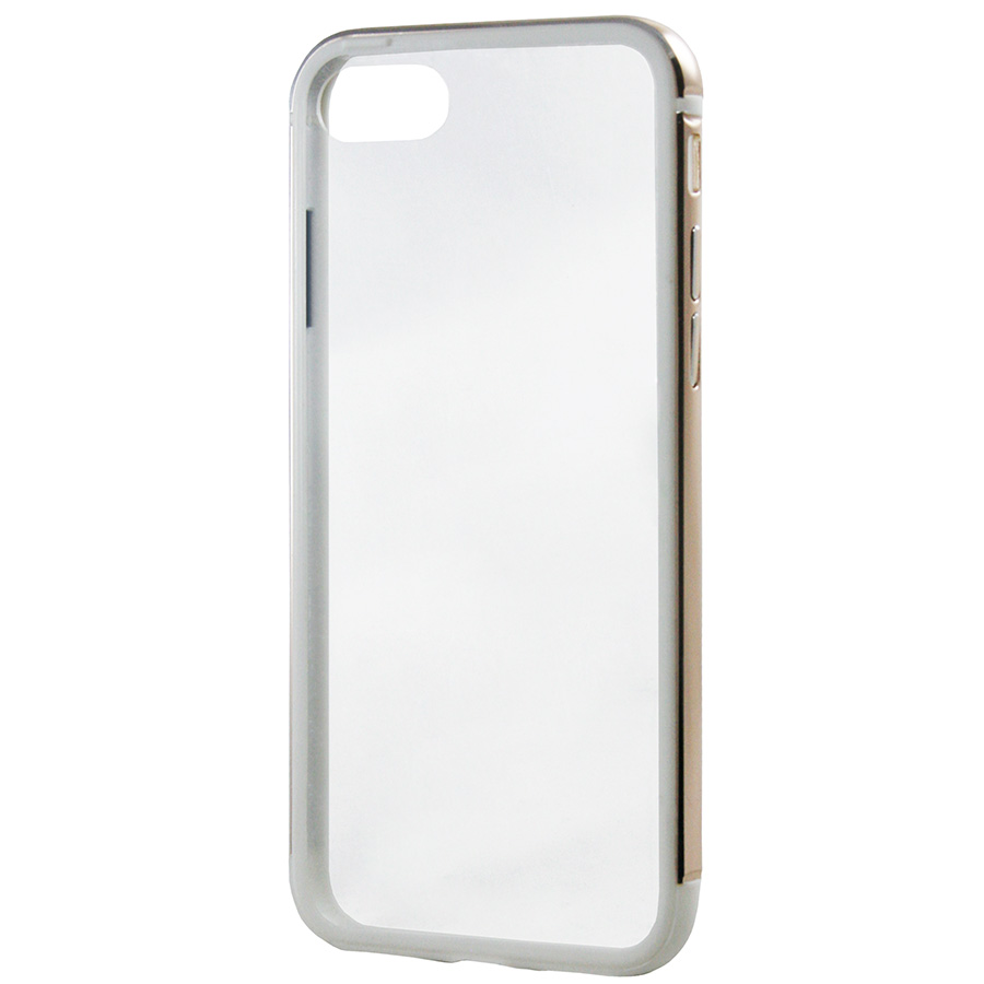 Бампер Metal Hybryd (PC back) iPhone 8 золотой