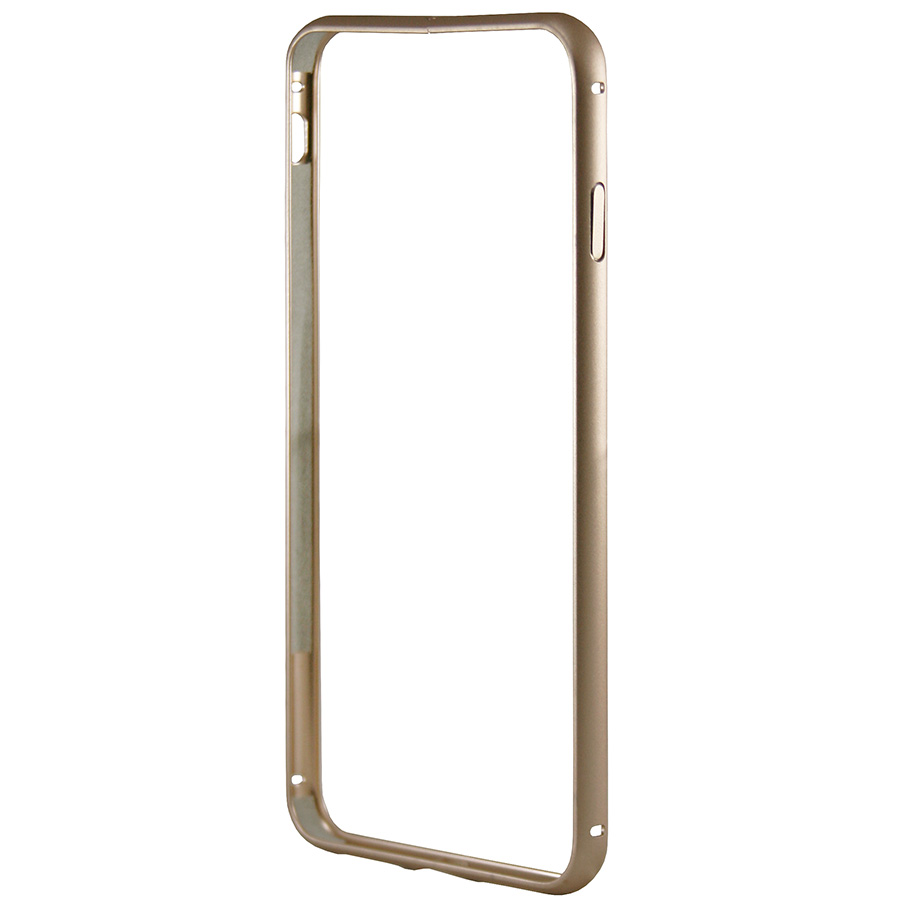 Бампер Metal Invisible Lock iPhone 8 золотой