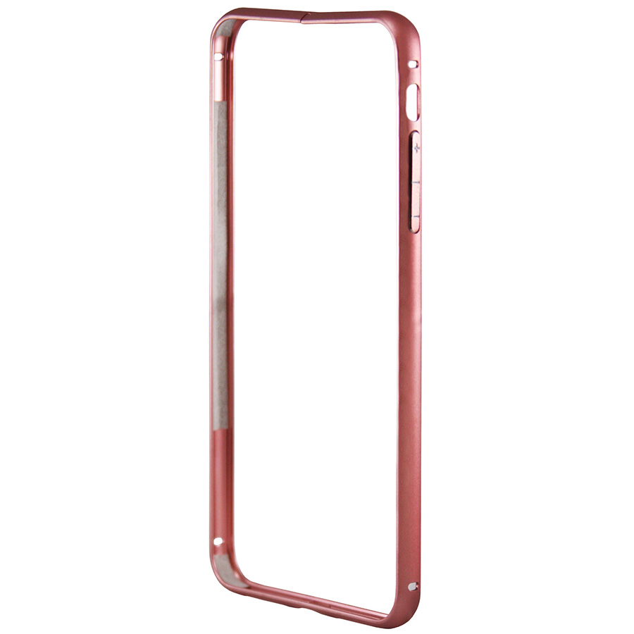 Бампер Metal Invisible Lock iPhone 8 Plus красный