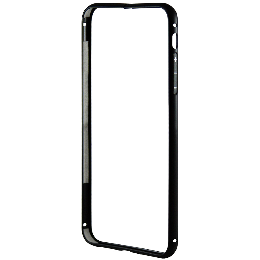 Бампер Metal Invisible Lock iPhone 8 Plus черный