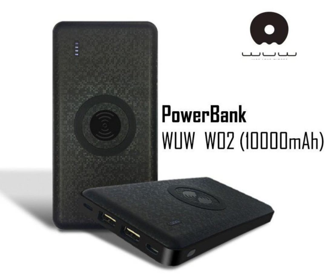 АКБ PowerBank WUW W02 (10000 mAh) черный