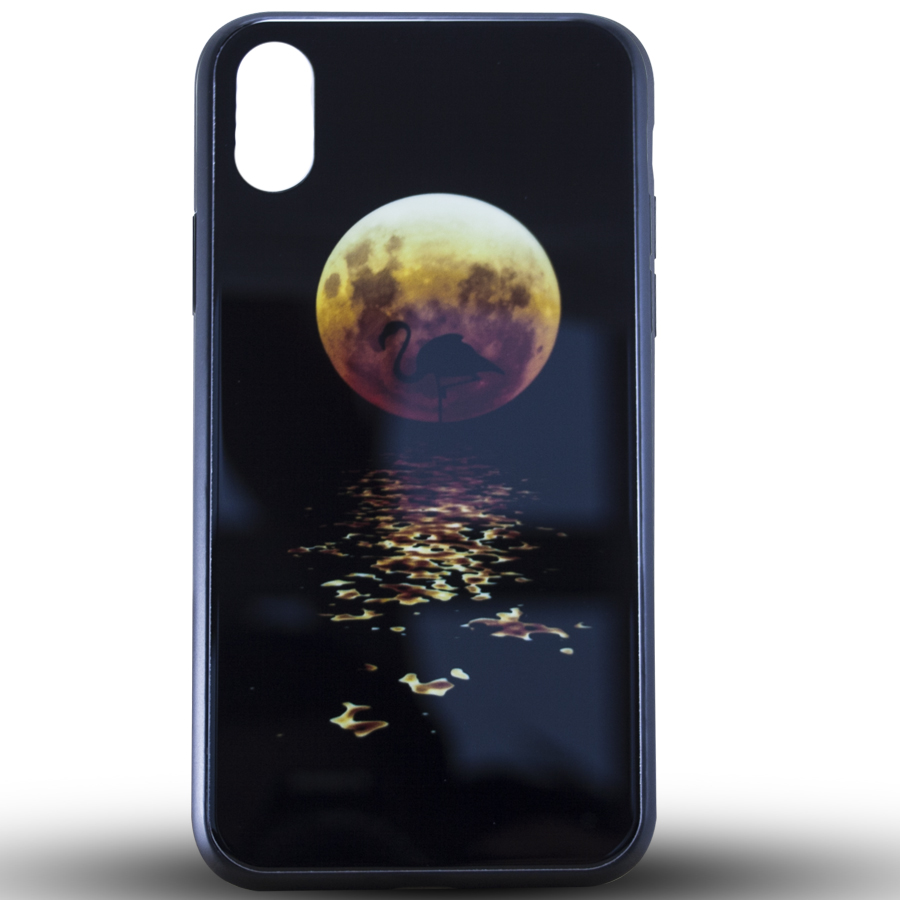 Силикон LUMINOUS GLASS Samsung M10 Moon