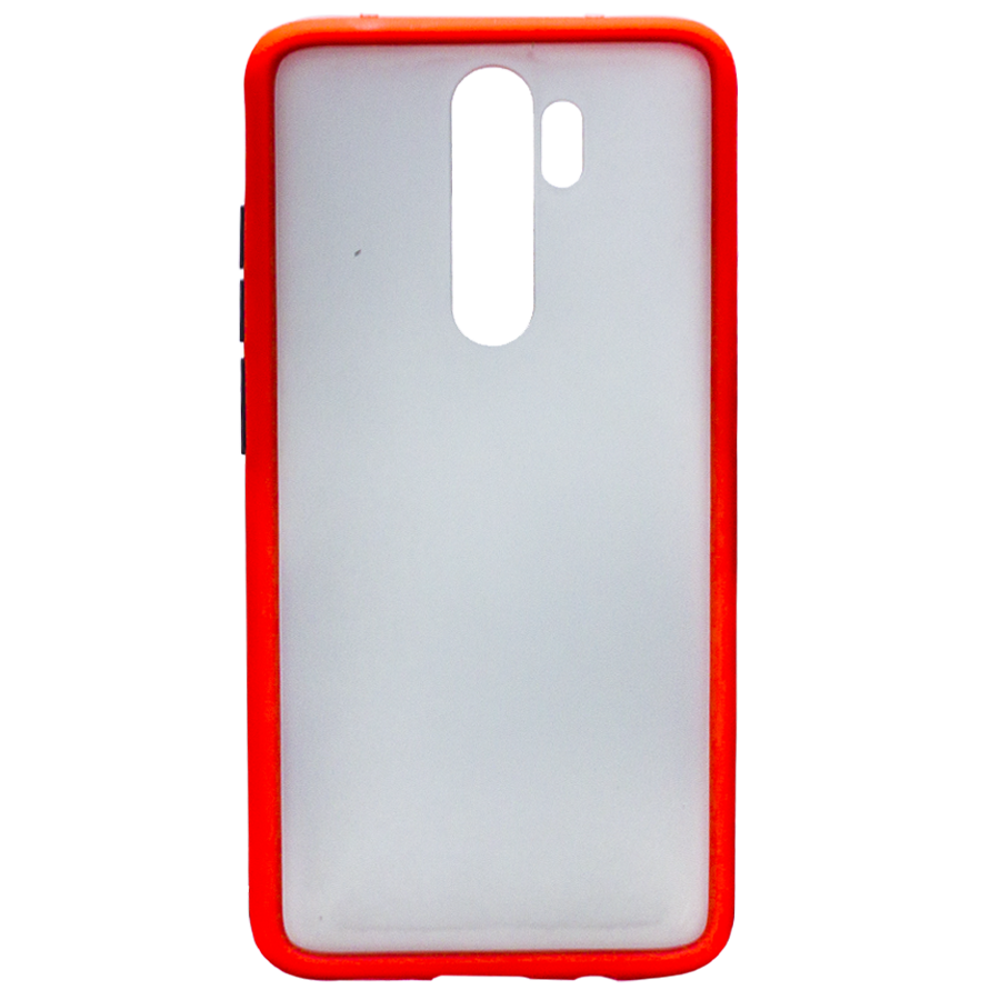 Силикон MATT CASE Samsung A60 красный