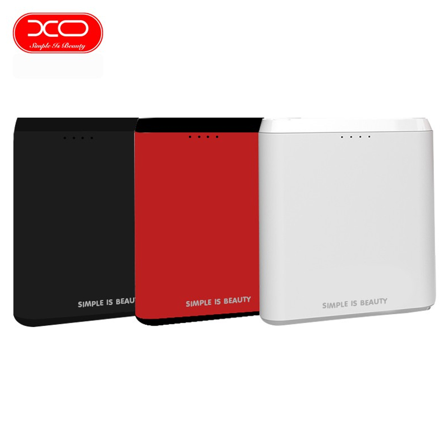 АКБ PowerBank XO PB73 (10000 mAh) черный